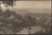 [View from Hillside of Pagoda, City, Harbor]