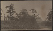 [View of a Pagoda from Inside a Moat]