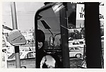 Filling Station, Rear View Mirror, Hillcrest, New York