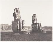 Gournah (Thèbes), Colosses (Celui de Droite, Dit de Memnon)
