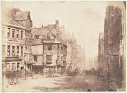 Edinburgh. The High Street with John Knox's House
