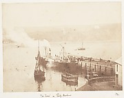 "The ""Juno"" in Tenby Harbour"