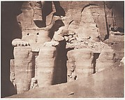 Abo-Sembil, Grand Spéos, Statues Colossales vues de Face (Parte Inférieure)