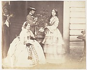 [Mrs Stuart, J.C.S and Mrs d'Aguilar, Barrackpore]