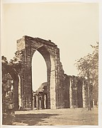 [Mahomedan Arch at the Qutub Minar, Delhi]