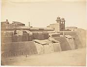 """[Fort of """"Philoor"""" on the Sutlej River, Built by Runjeet Singh]"""