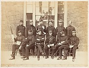 [Officers at the School of Military Engineering, Chatham]
