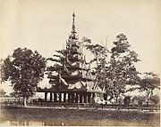 [Burmese Pagoda in the Eden Gardens, Calcutta]