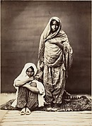 [Two Indian Women, One Seated]