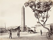 "[Egyptian Obelisk, ""Cleopatra's Needle,"" in Alexandria, Egypt]"