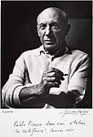 Portrait de Picasso à la cigarette, Cannes