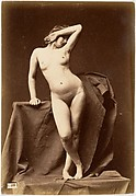 [Young Woman, Nude, From the Front with Hand Over Face]