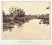 Vue de la Ville Chinoise (Cholen) Feuille No. 6, Saïgon, Cochinchine