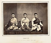 Femmes du Prince Phra-Kéo-Pha