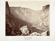 Yosemite Valley from Union Point