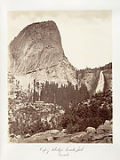 Cap of Liberty and Nevada Fall, Yosemite