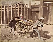 [Japanese Woman Posing in a Carriage]