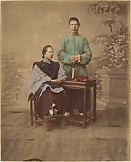 [Portrait of a Chinese Couple]