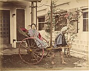 [Japanese Woman in Carriage]