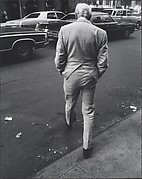 [Street Scene: Man in Pinstripe Suit, New York City]
