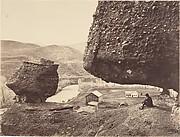 Hanging Rock, Foot of Echo Cañon