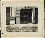 [Building Façade in Fur District, West 27th Street, New York City]