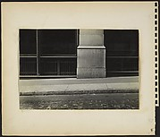 [Building Fronts, Sidewalk, and Cobblestone Paving, New York City]
