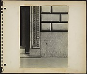 [Building Front Detail with Acanthus Molding in Doorway, New York City]