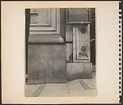 [Building Front Detail with Manufacturing Company Plaques, New York City]