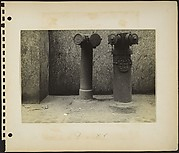 [Pair of Siamese Standpipes, New York City]
