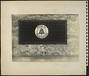 [Air Vent with Bell Telephone Advertisement, New York City]
