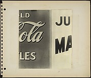 [Coca-Cola and Malted Milk Sign Details, New York City]