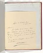 [Manuscript Letter from W. H. Fox Talbot to Antonio Bertoloni]