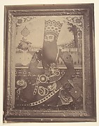[Fath-Ali Shah, Painting that Once Belonged to Hmah [?] Saula, Uncle of the King.]