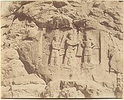 (7) [Tag-e Bustan, Crowning Ceremony of Shapour II, Kermanshah]