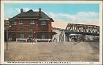 New Union Station, Phillipsburg, N.J., D.L.& W. and C.R.R. of N.J.