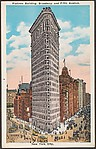 Flatiron Building, Broadway and Fifth Avenue, New York City