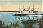 Old Lyme Ferryboat Colonial, crossing Connecticut River for Saybrook Point, Conn.