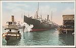 Steamer Docking, Jacksonville, Fla.