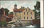 Old Slater Mill, Pawtucket, R.I. First Cotton Mill in America.