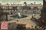 Trafalgar Square & National Gallery, London