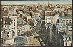 Brooklyn, N.Y., City Hall Square Looking up Fulton St.