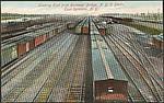 Looking East from Routnour Bridge, N.Y.C. Yards, East Syracuse, N.Y.