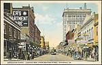 Broughton Street, looking West from Drayton Street, Savannah, Ga.