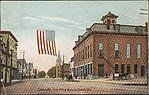 Calais, Me., Post Office, Main & Church Sts.