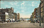 Foot of Woodward Ave., Detroit, Mich.