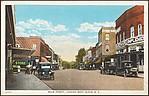 Main Street, looking West, Elkin, N.C.