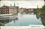 Hadley Mill and 3rd Canal, Holyoke, Mass.