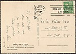 [Sixty Letters, Postcards, Notecards, and Telegrams to Walker Evans from Nineteen Correspondents: Leslie Saalburg to John Szarkowski]