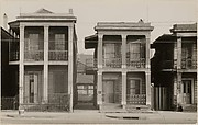 [Detail of &quot;New Orleans Houses&quot;]